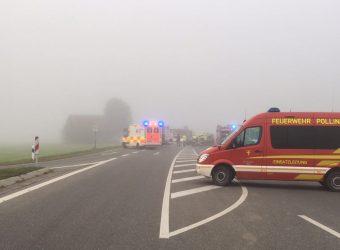Verkehrsunfall 25 September 2017