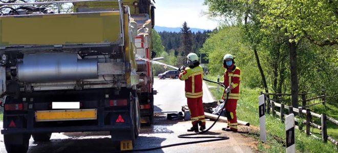 Einsatz 30.04.2020 – Verkehrsunfall