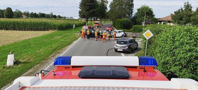 Einsatz 27.08.2020 – Verkehrsunfall