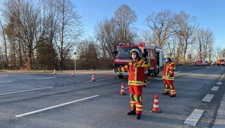 Einsatz 18.12.2020 – Verkehrsunfall mit eingeklemmter Person