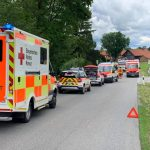 Einsatz 16.07.2021 - Verkehrsunfall Huglfingerstraße